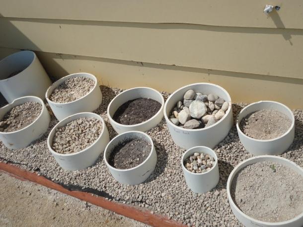 Sample Pots